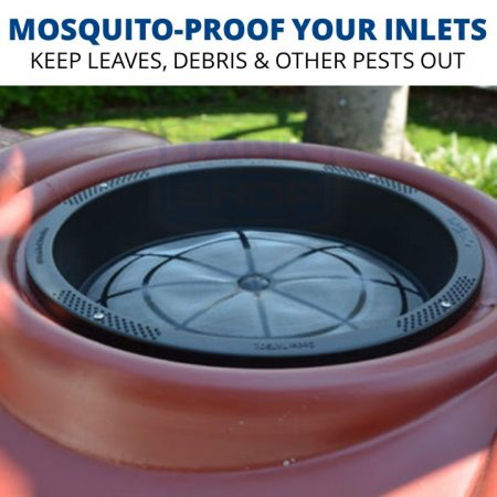 Rain Harvesting Tank Screen - mosquito-proof your tank