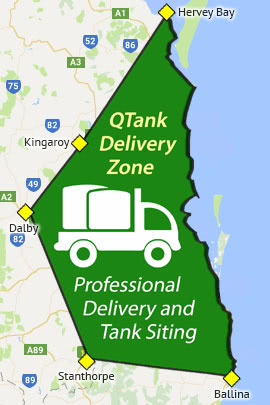 Free Tank Delivery Zone