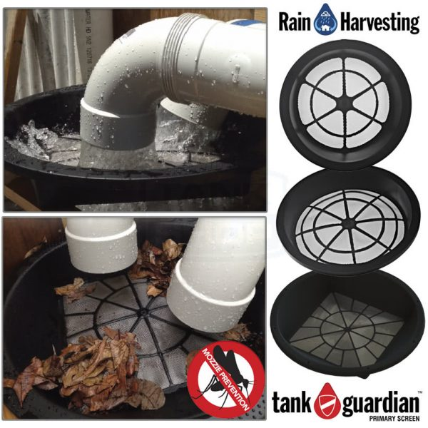 Tank Guardian Inlet Screens - Rain Harvesting