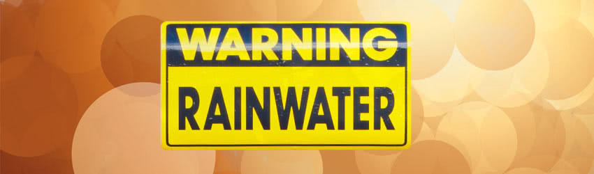 Warning Rainwater - Is Tank Slude Harmful?