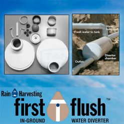 In-Ground First Flush Water Diverter (Rain Harvesting)