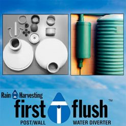 Post/Wall Mounted Water Diverter (Rain Harvesting)